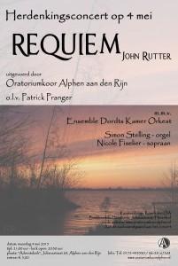 Uitvoering Requiem #Flyer
